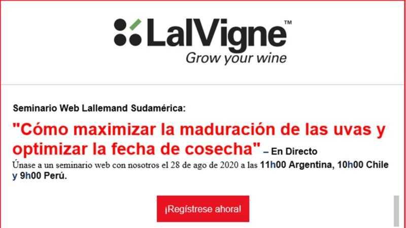 ¡Nuevo! Seminario Web Lallemand Sudamérica