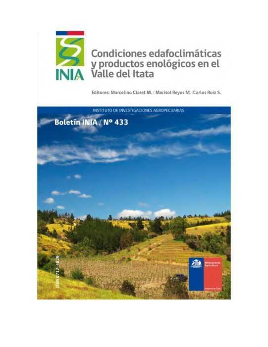 Condiciones edafoclimáticas y productos enológicos en el Valle del Itata