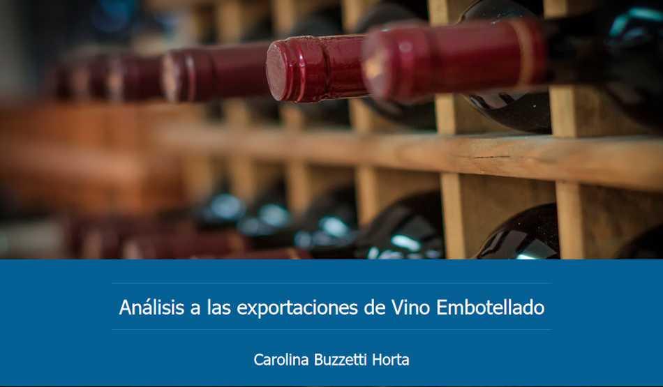Exportaciones de Vino Embotellado ODEPA